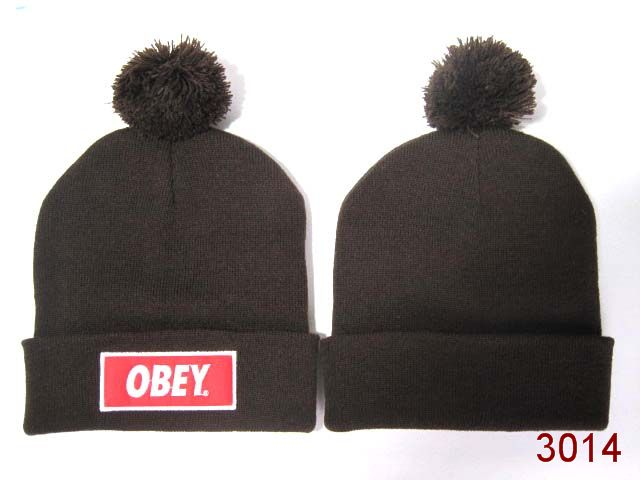 Obey Beanie Brown 1 SG